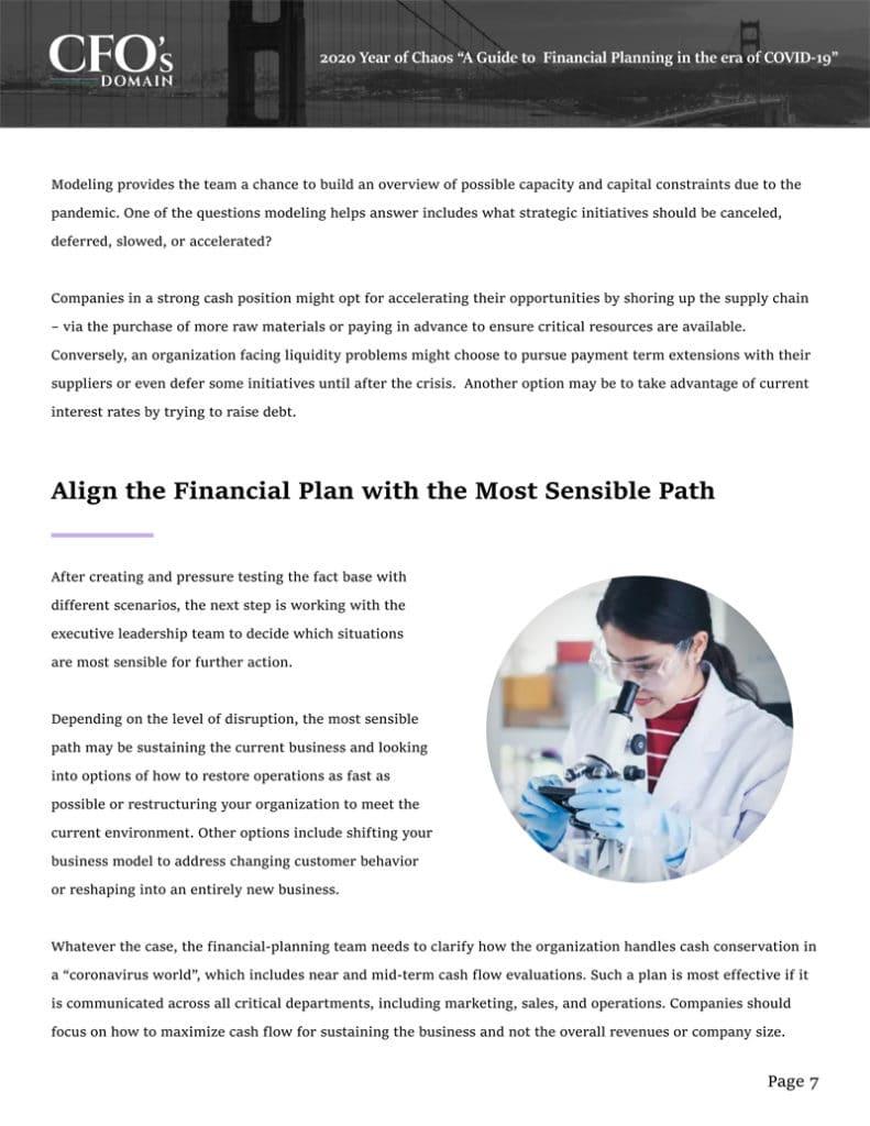 financial planning recruitment CFO's domain